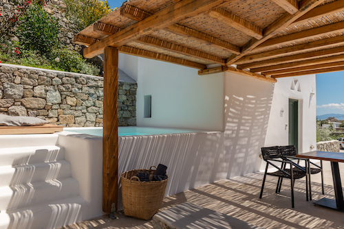 Family Room with Plunge Pool Mykonos